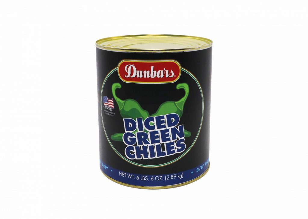 Dunbars® Roasted Green Chile Pepper Diced