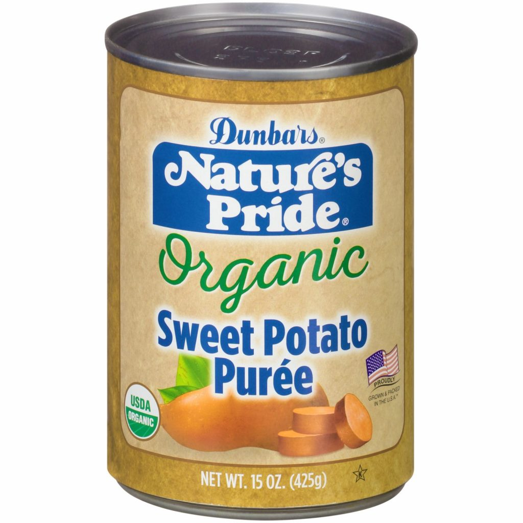 15oz. Nature's Pride Organic Sweet Potato Puree
