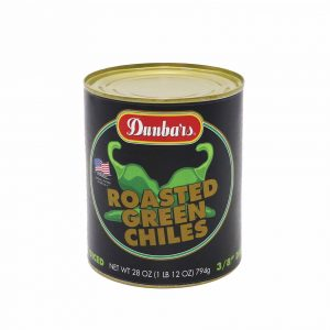Dunbars® Roasted Green Chile Pepper Pieces