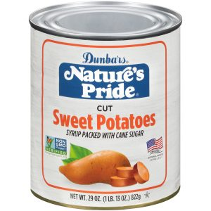 29oz. Nature's Pride Cut Sweet Potatoes Non-GMO