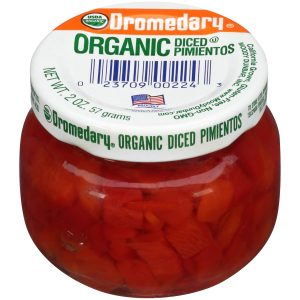 2oz. Dromedary Organic Diced Pimientos