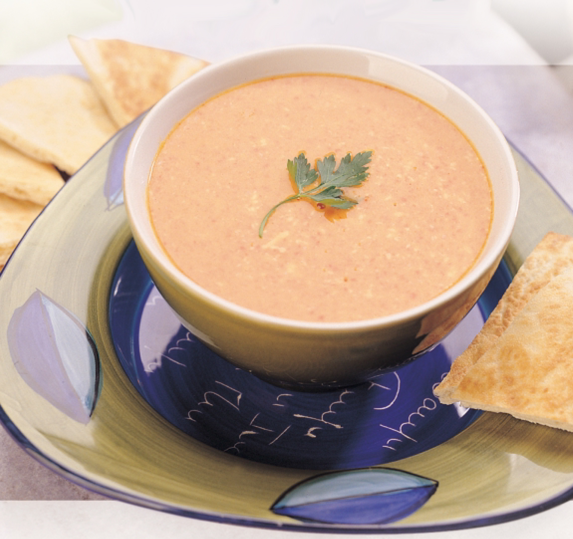 Creamy Pimiento Cheese Soup