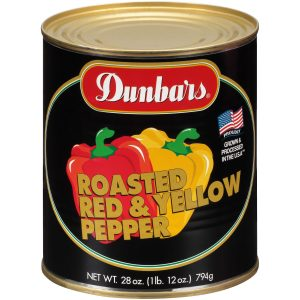 Dunbars Roasted Red and Yellow Pepper 28oz