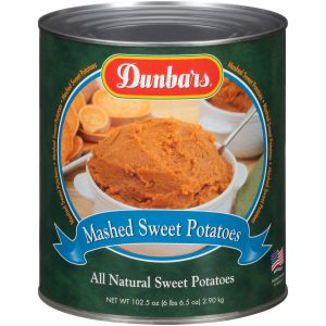 Dunbars Mashed Sweet Potatoes 102.5 Oz
