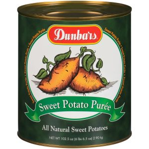 Dunbars Sweet Potato Puree 102.5 Oz