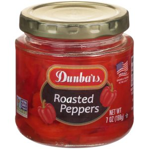 Dunbars Roasted Peppers NON GMO 7 Oz