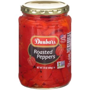 Dunbars Roasted Peppers NON GMO 24oz
