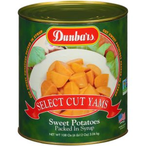 Dunbars Select Cut Yams - Sweet Potatoes Packed in Syrup