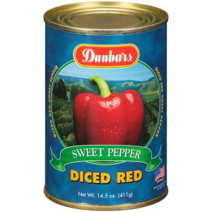 Dunbars Sweet Red Pepper Diced 14.5 Oz