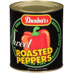 Dunbars Sweet Roasted Peppers 6lb 6oz