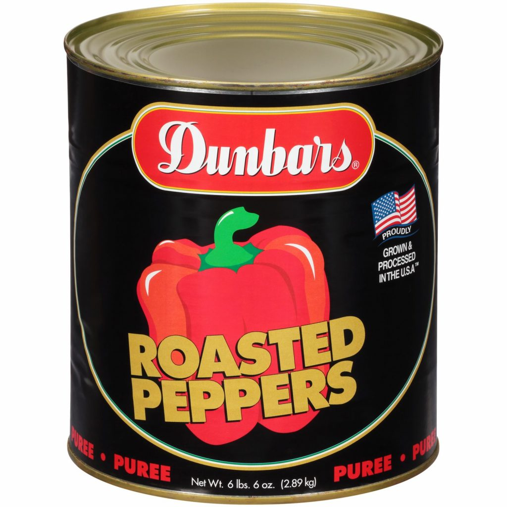 Dunbars Roasted Peppers Puree