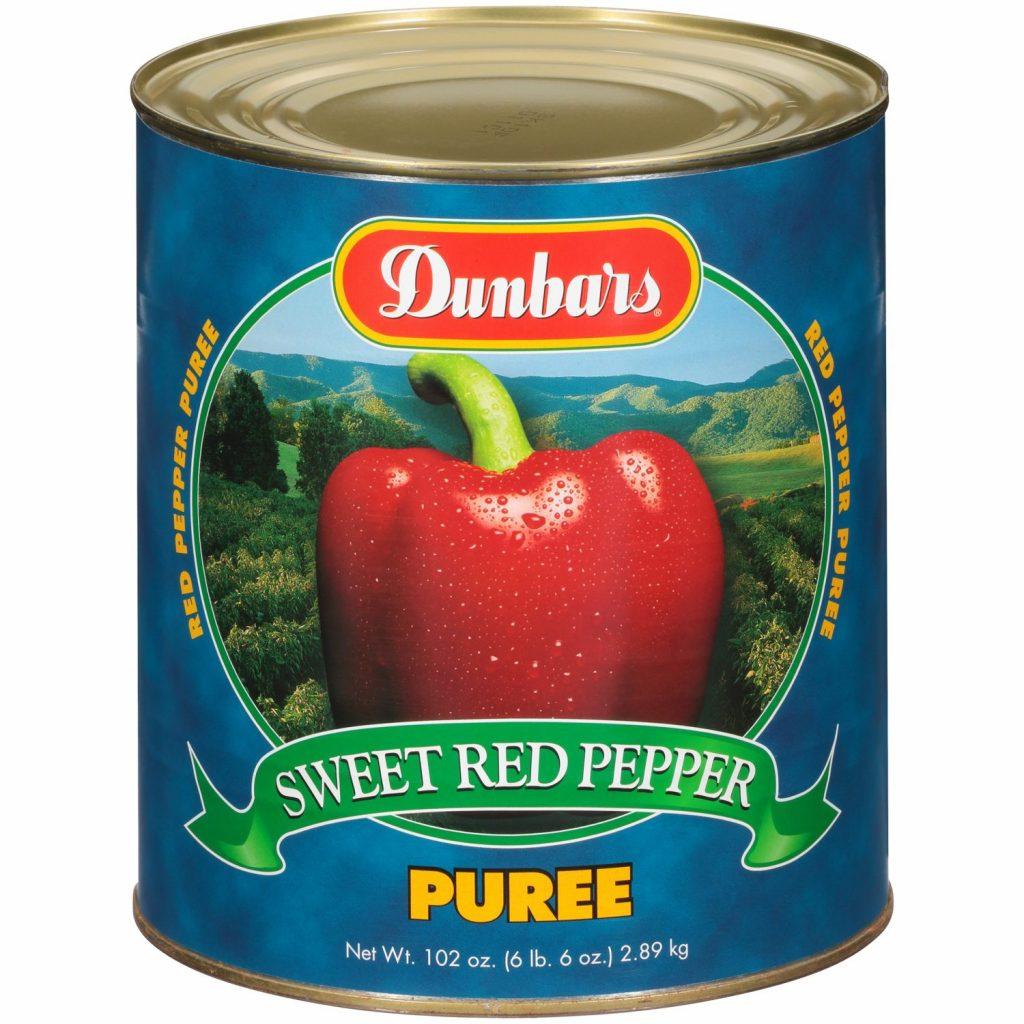 Dunbars Sweet Red Bell Pepper Puree 102 Oz