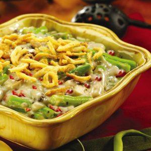 Festive Green Bean Casserole