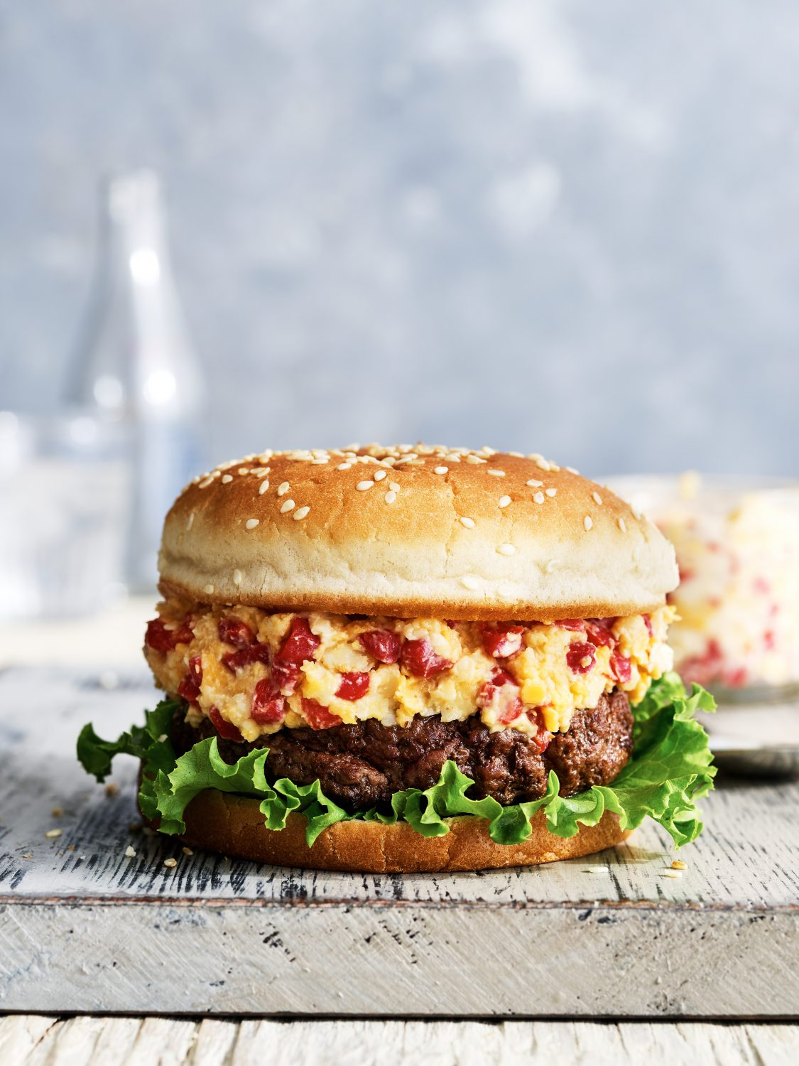 Classic Pimiento Cheese Burger